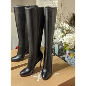 💯Authentic Fifi Botta 100 Shiny Calf Boots (NWB)